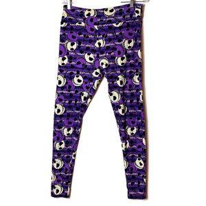 LuLaRoe Pants - Lularoe Nightmare before Christmas Leggings TC